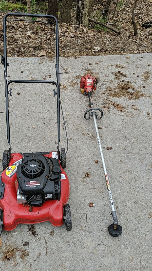 Nonworking Lawn Mower And Weed Eater For Sale In Knoxville