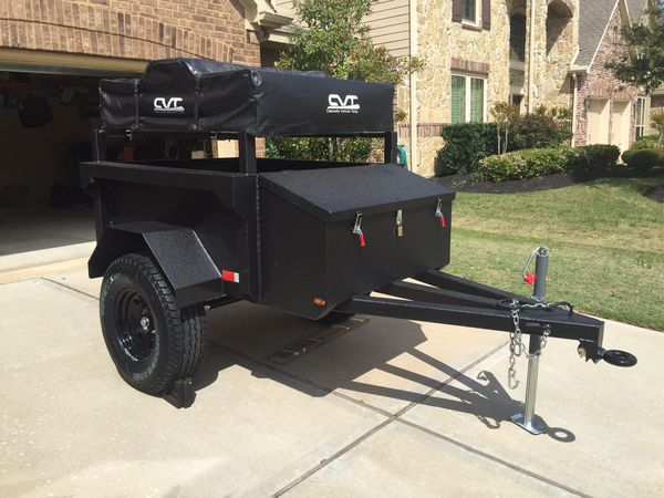 Off Road Trailers For Sale Used >> Custom Off Road Trailer With Tent For Sale In Katy Tx Offerup