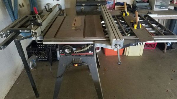 Craftsman Table Saw With Excalibur Sliding Attachment