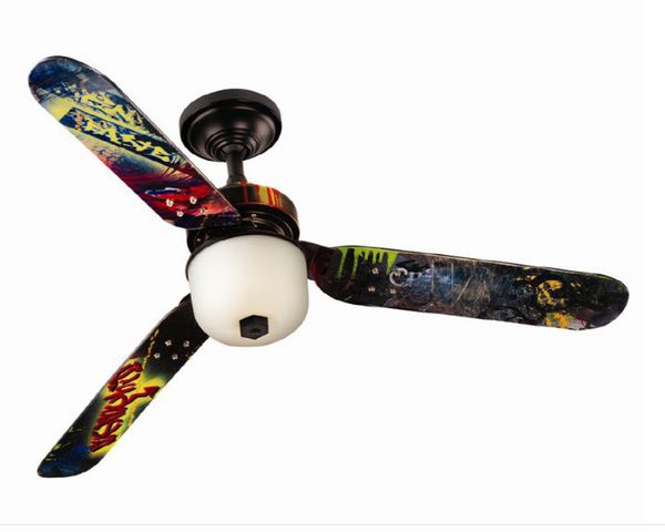 Hunter Skateboard Ceiling Fan For