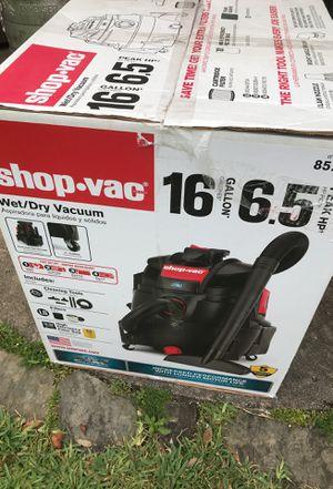 Photo Shop vac used good condition 16 gallon