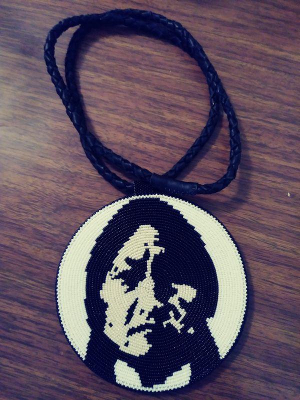 Native American beaded medallion  for Sale in SKOK, WA - OfferUp