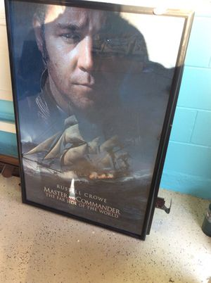 Master commander movie poster for Sale in Orlando, FL