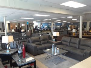 $749 Ashley sofa and loveseat no credit needed for Sale in Woonsocket, RI