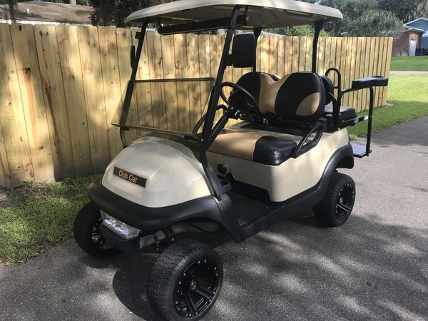 Club Car Precedent New Batteries And Lifted For Sale In Jacksonville