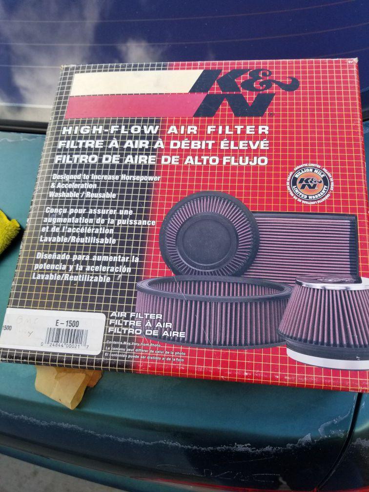K&N air filter Chevy c10,suburban,k15