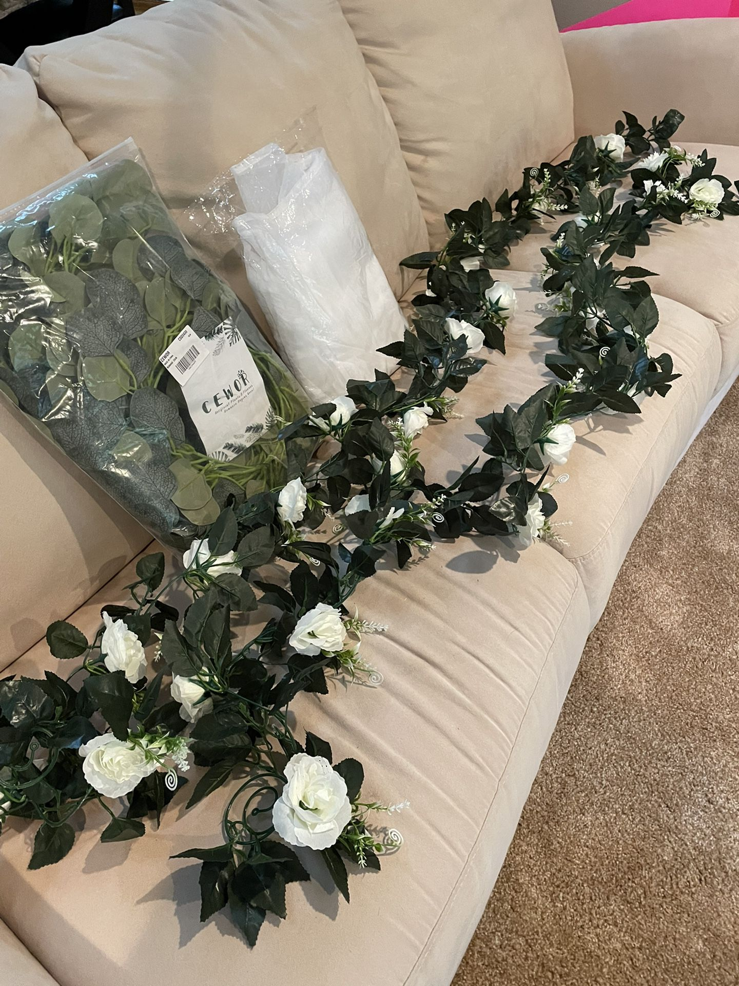 Pending Pick Up //Decorations For Wedding, Baby Shower, Birthday Or Whatever You Want
