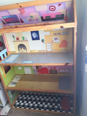 Wooden doll house for Sale in Annandale, VA