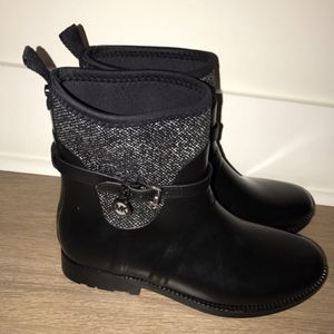 Brand brand michael kors Tweed and Rubber Rain Boot size 10 (pick up only) for Sale in Alexandria, VA
