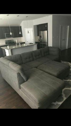 Incredible New And Used Grey Sectional For Sale In Austin Tx Offerup Pabps2019 Chair Design Images Pabps2019Com