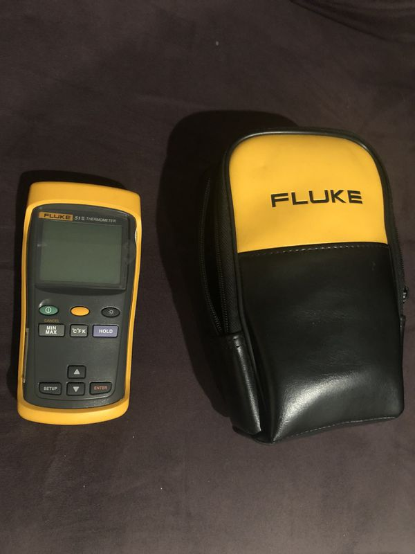 Fluke temperature meter 51-2 single port for Sale in Fort Myers, FL -  OfferUp