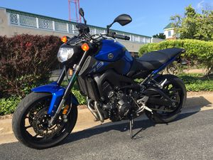 2016 Yamaha FZ-09 with 1400 Miles for Sale in Falls Church, VA