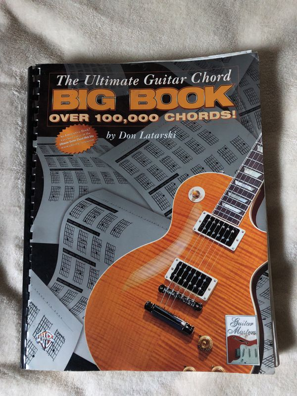 The Ultimate Guitar Chord Big Book By Don Latarski For Sale In Glen