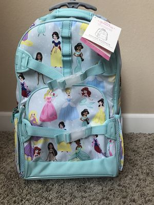 Pottery Barn Disney Princess Backpack For Sale In Manteca CA