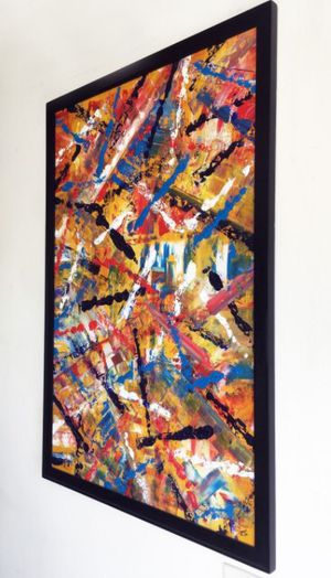 PMS Artwork - One Of A Kind - Original Oil Painting for Sale in Los Angeles, CA