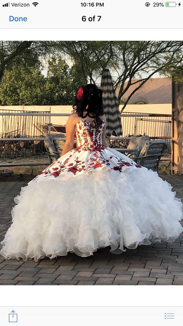 3e5ba8f273f quinceañera dress charro for Sale in Avondale