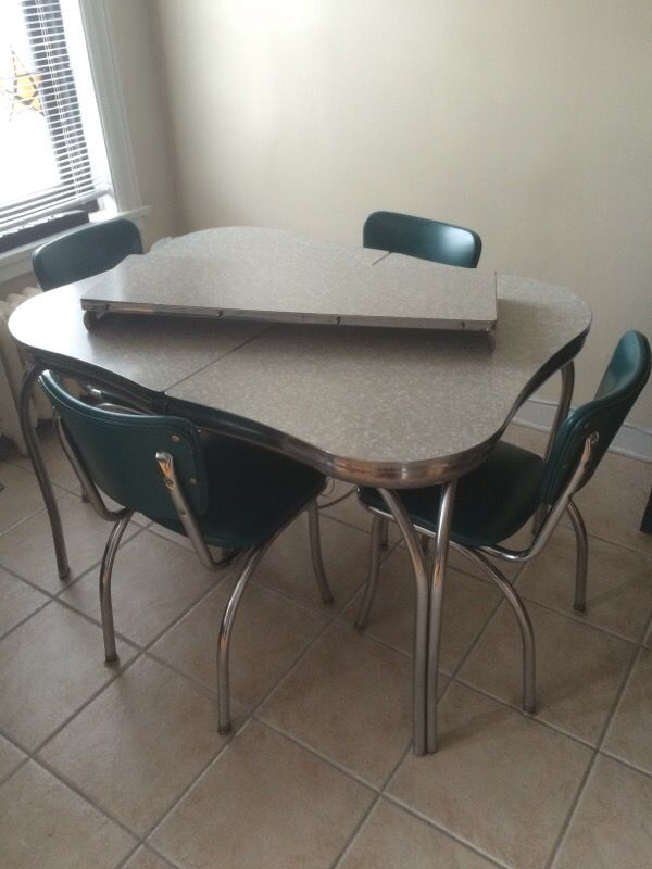 1950s Formica Table Chairs