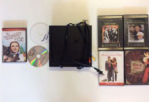DVD player w/ 7 movies for Sale in Dallas, TX