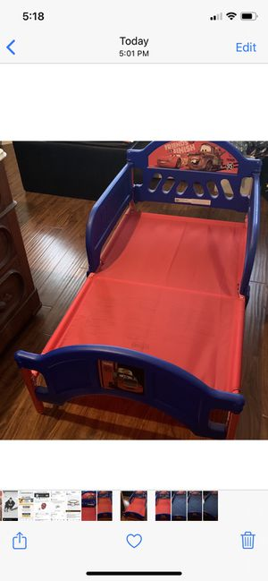 Photo Cars toddler bed