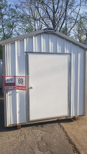 8x10 Metal Shed >> 8x10 Metal Storage Building Only 69 Per Month For Sale In Huntington Wv Offerup