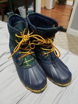 Polo snow boots (kids size 4) Thumbnail