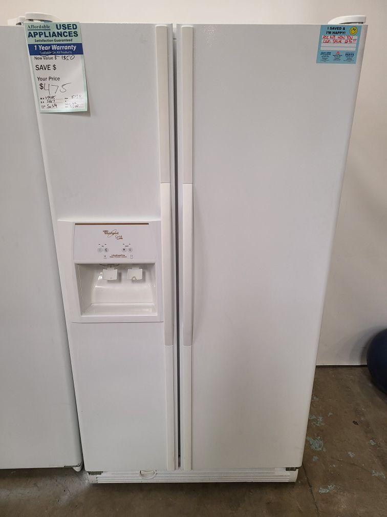 Large white fridge and freezer #13