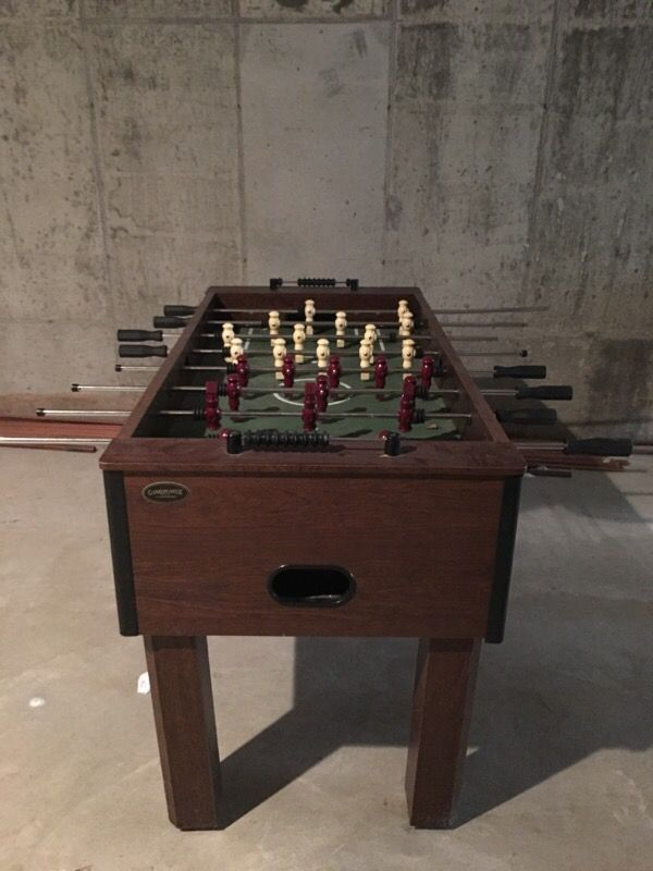 Game Power Foosball Table For Sale In Mahopac NY OfferUp - Gamepower foosball table