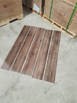 Luxury vinyl flooring!!! Only .88 cents a sq ft!! Liquidation close out! Thumbnail