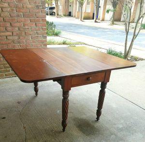 Antique Drop-leaf Table for Sale in Gaithersburg, MD