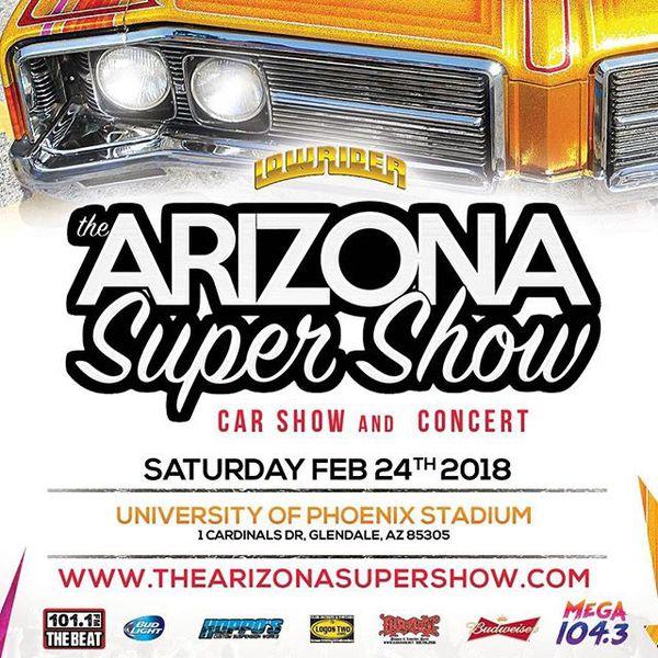 Arizona Super Show and Concert Feb 24th @ University of Phoenix Stadium  2  Tickets for Sale in Phoenix, AZ - OfferUp