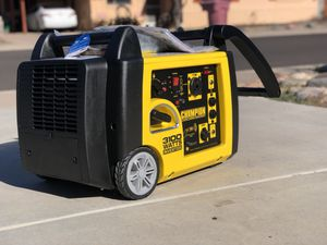 NEW Champion 3100-Watt RV Ready Portable Inverter Generator with Wireless Remote Start (Retail: $799) for Sale in Scottsdale, AZ