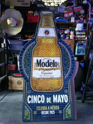 Modelo cut out for Sale in San Jose, CA
