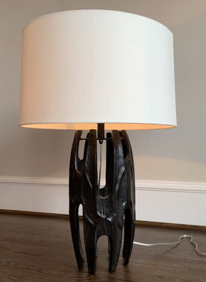 AFRICAN INSPIRED TABLE LAMP for Sale in Alexandria, VA