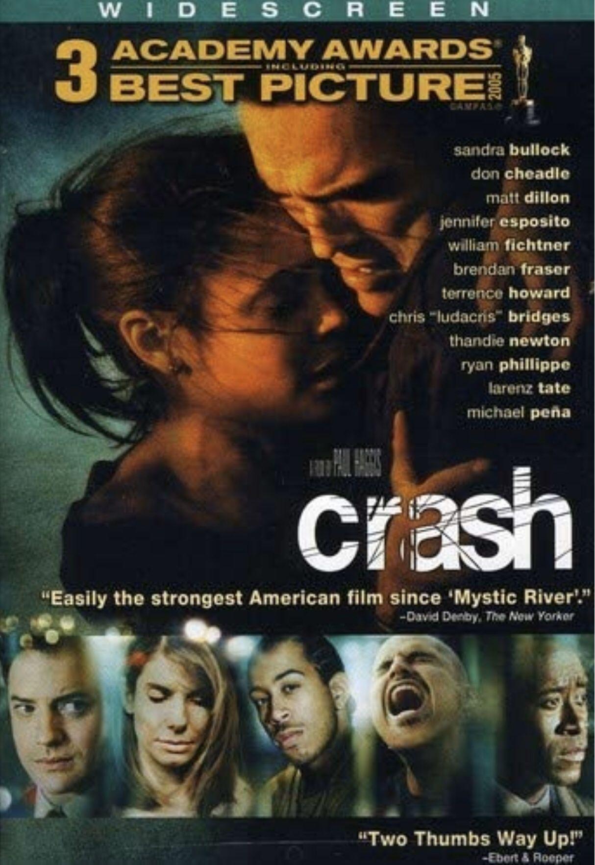 Crash Widescreen Single Disc DVD