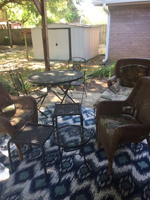 new and used patio furniture for sale in fort worth, tx - offerup