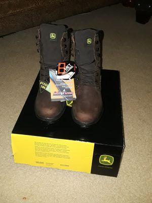 John Deere steal toe boots for Sale in Arlington, VA