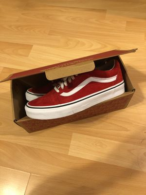 Vans Old Skool (Sport) Racing Red Snake Men Size 6.5 for Sale in 324cebd138c
