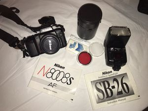 Nikon N8008s for Sale in Paradise Valley, AZ
