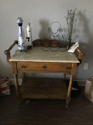 Vintage Granite Top Table for Sale in Denver, CO