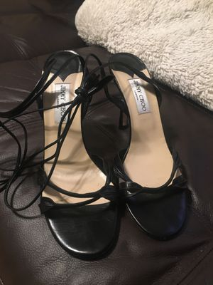 Jimmy Choo black shoes for Sale in New York, NY