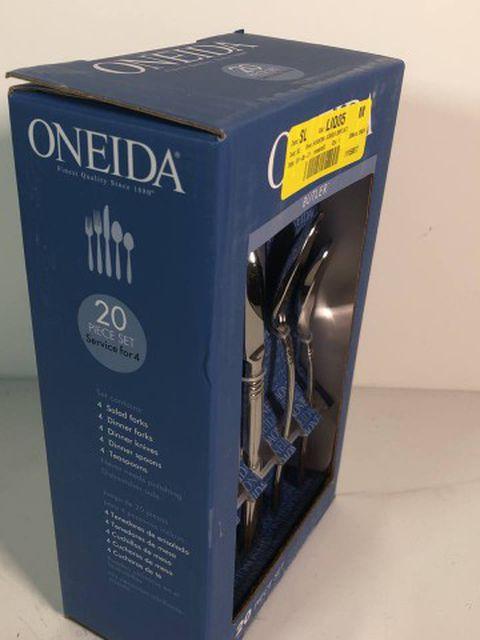 Oneida B333020A Flatware Set, 20 Piece