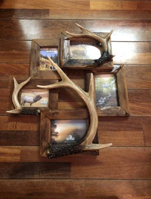 Photo Deer Antler Picture Frame from Rivers Edge Colorado