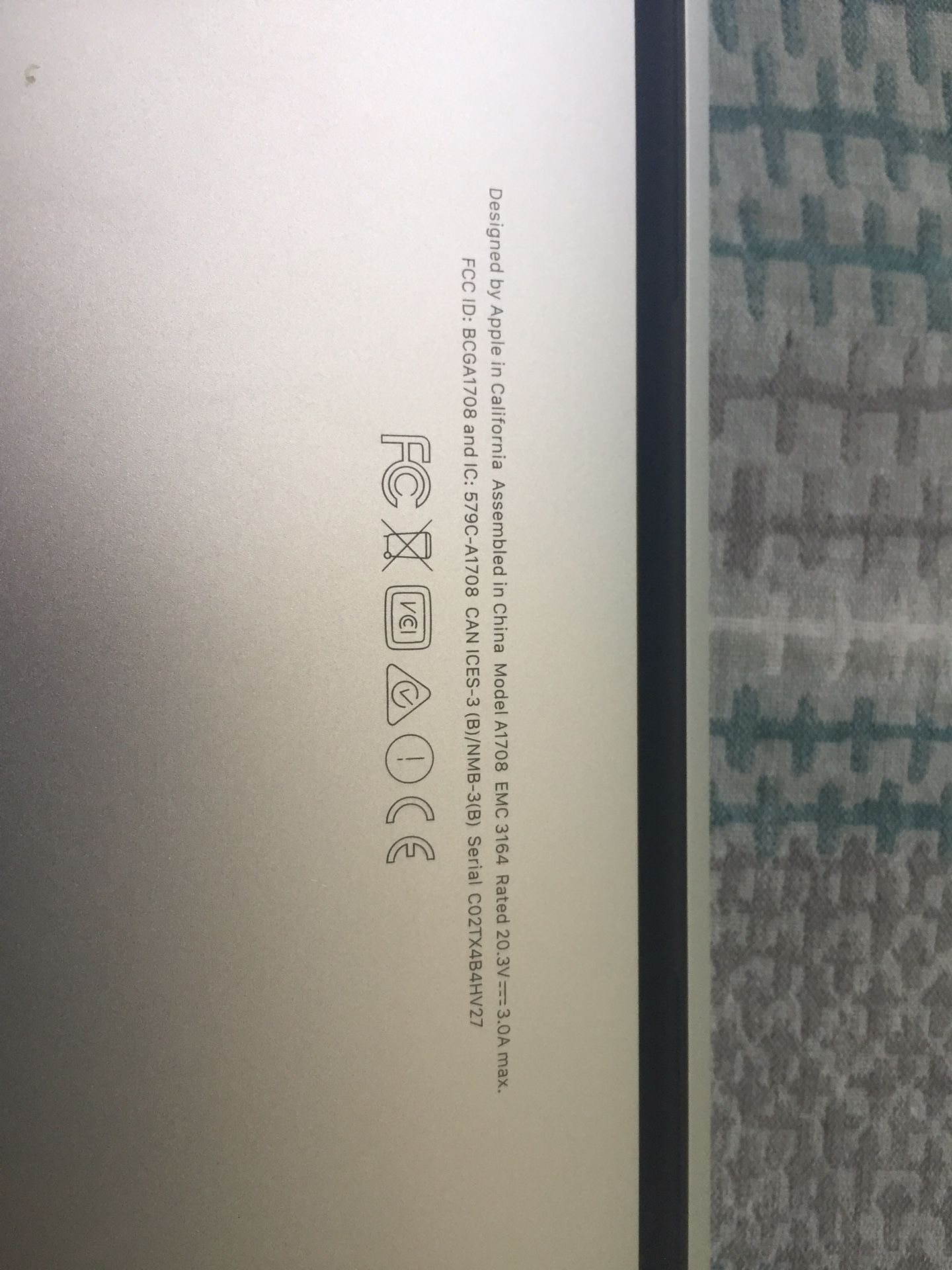 "2017 MacBook Pro 13"" Retina Screen"