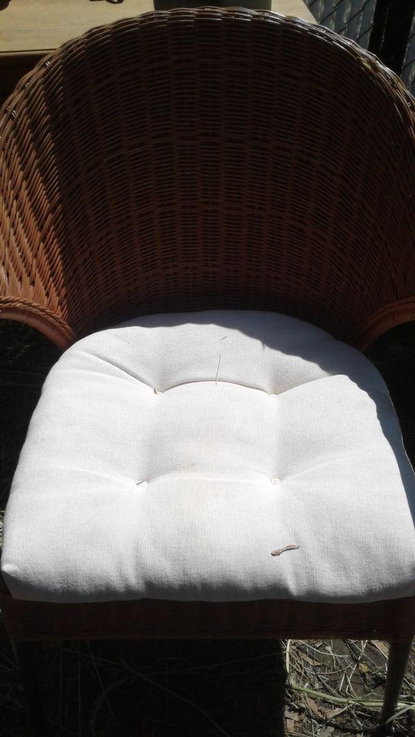 Wicker Chair For Sale In Spokane Valley Wa Offerup