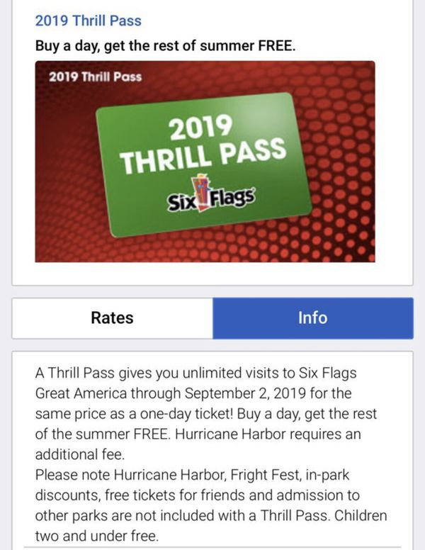Six Flags Great America Bring A Friend Free Days 2019
