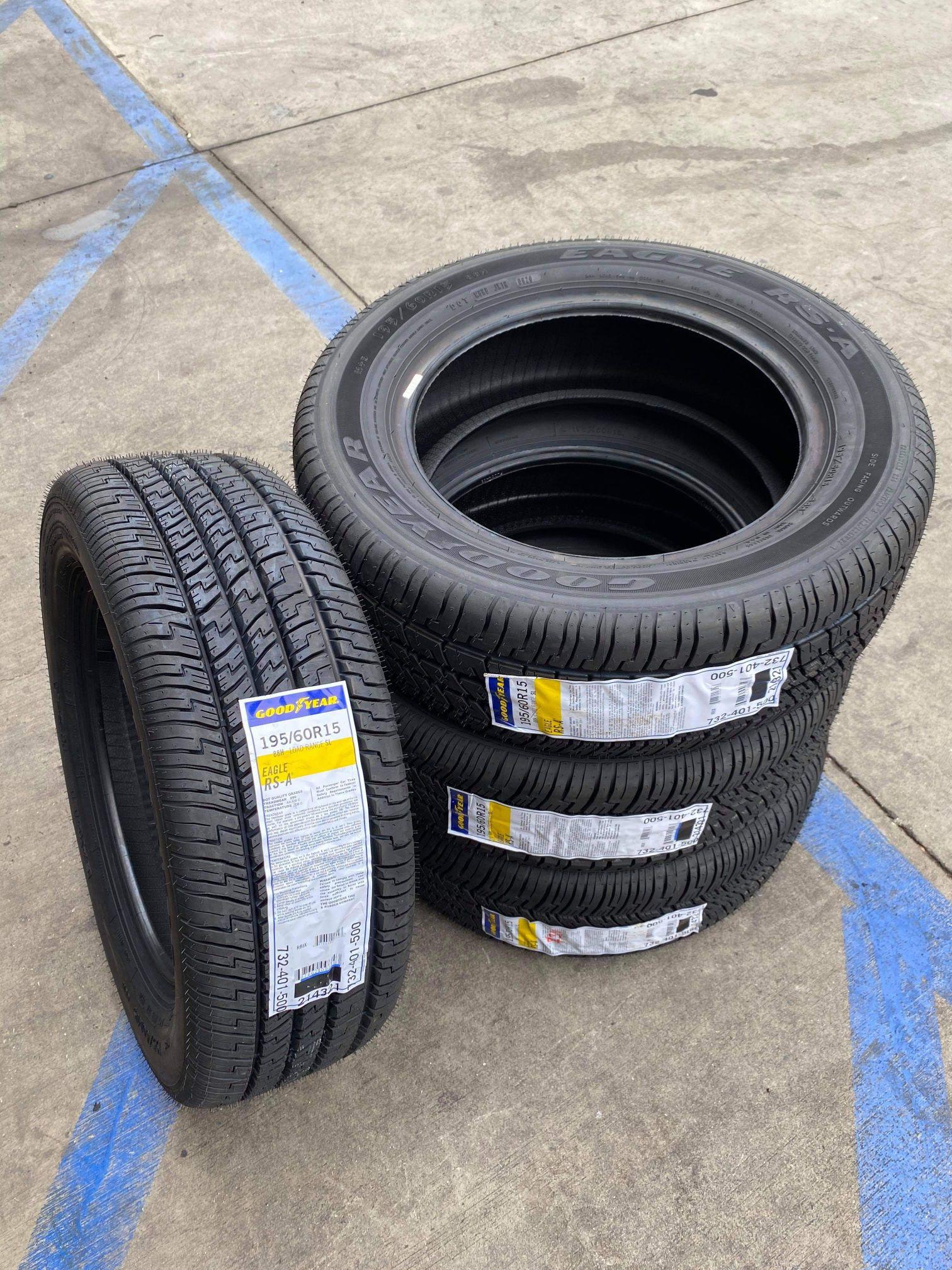 195/60/15 GOODYEAR Egle New Tires