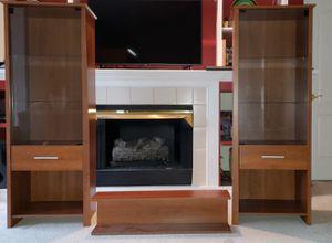 Bookshelf / Curio Cabinet / Entertainment Center for Sale in Lorton, VA