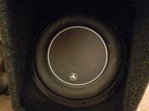 JL Audio subwoofer and amp for Sale in Warrenton, VA