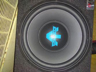 Auto Tek 12in speakers Thumbnail
