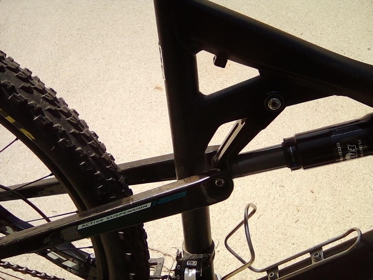 It's a 2012 yeti ASR 5 CARBON Enduro bike